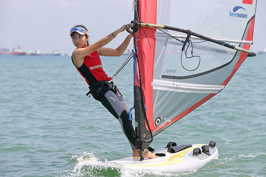 "Windsurfer Audrey Yong, 21, who says hers is an ""unpredictable sport"", is not intimidated by the opposition at the Rio Olympics."