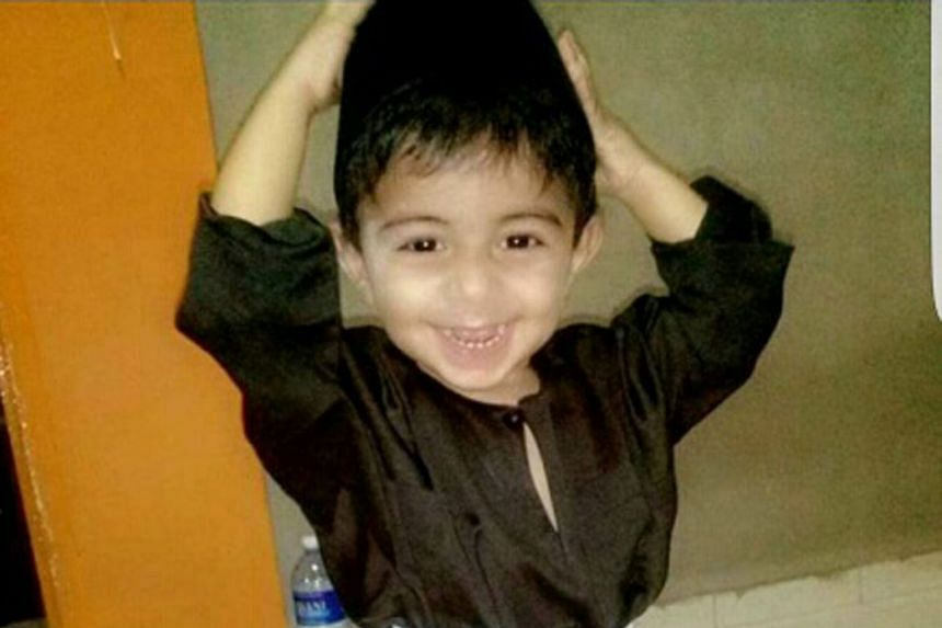 Two-year-old Daniel was pronounced dead on Nov 23 last year after he was kicked and slapped nearly every day by his biological mother and her boyfriend for about five weeks.