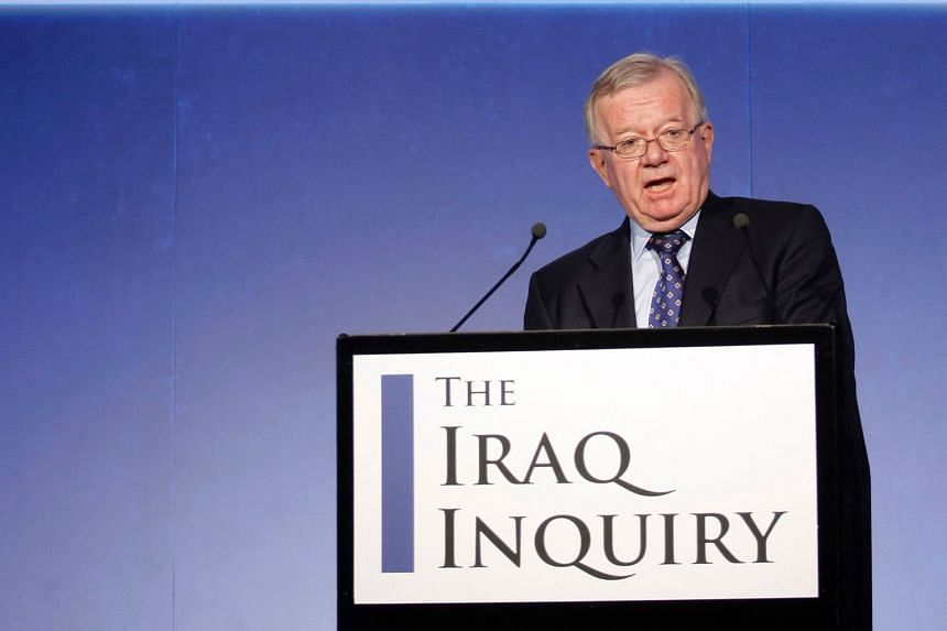 Mr Chilcot, chairman of the inquiry, at a news conference in London on July 30, 2009, where he outlined the terms of reference for the investigation and explained the panel's approach to its work.