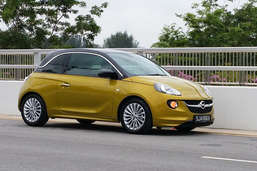 The Opel Adam is so compact you can drive it into a parallel parking space head first.