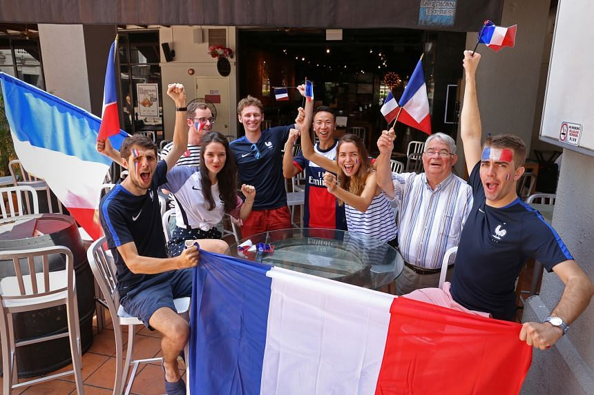 A football title will lift the morale of these France supporters, especially after last November's terror attacks.