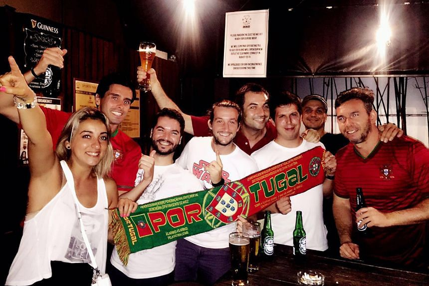 Despite a shaky start to the campaign, Portugal fans are confident their national team will win the Euro 2016 final.