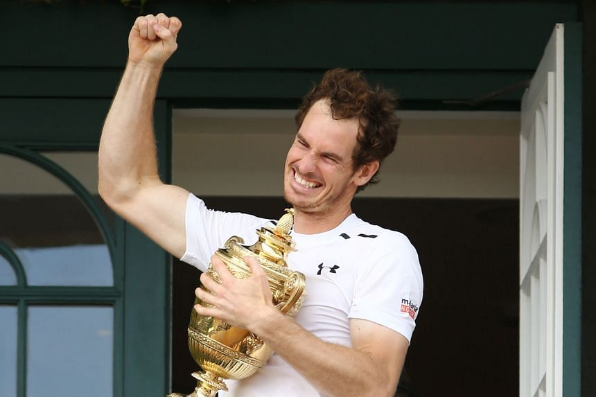 Andy Murray, on the clubhouse balcony, is the toast of British fans after taking his second Wimbledon title by beating Canadian Milos Raonic. The Scot says his great form is due to coach Ivan Lendl's return.