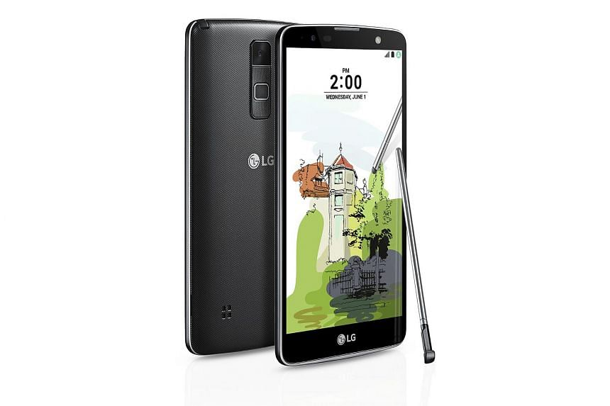 The stylus glides very easily over the LG Stylus 2 Plus' screen, and it is also slightly pressure- sensitive.