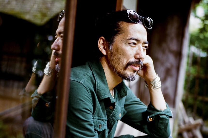 Hiroki Nakamura (left) says inspiration for his designs (above) mostly comes from old textiles and beautifully made items from the past.