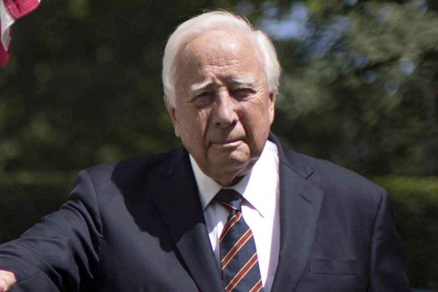 David McCullough (left) is one of the most influential United States historians of his era.