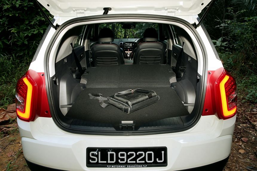 The Ssangyong Tivoli XLV's generous stowage is great for those who are into watersports, golfing, cycling and kite-flying.