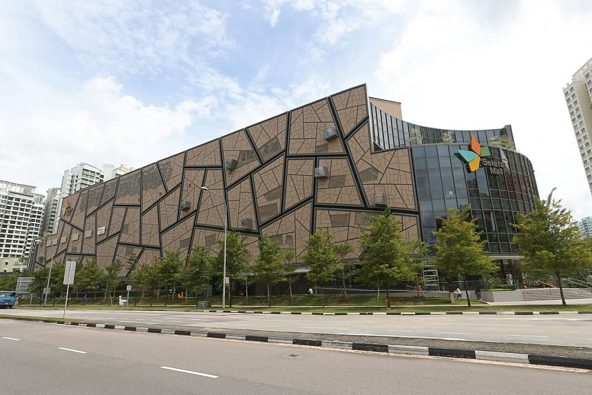 Revenue for SPH's property division was up 1.6 per cent from the corresponding period a year ago, on the back of higher rental and services revenue from the group's retail assets, such as The Seletar Mall (left).