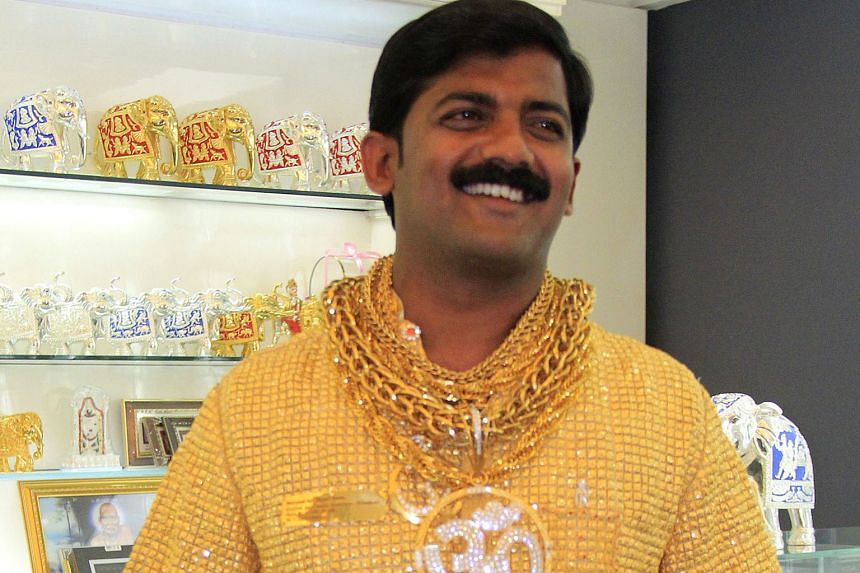Mr Phuge gained fame when he ordered a customised gold shirt worth $255,000 in 2013.