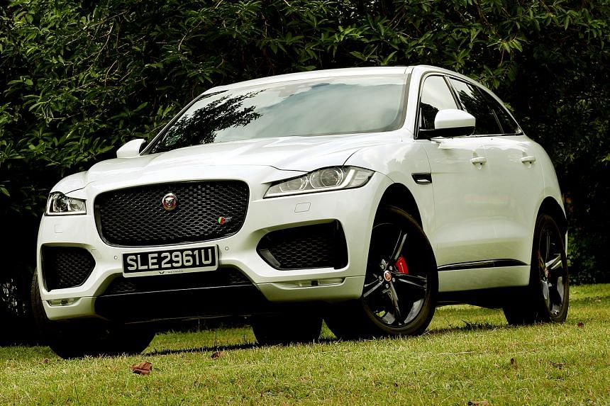 The Jaguar F-Pace is big, beautiful, fast and loud.