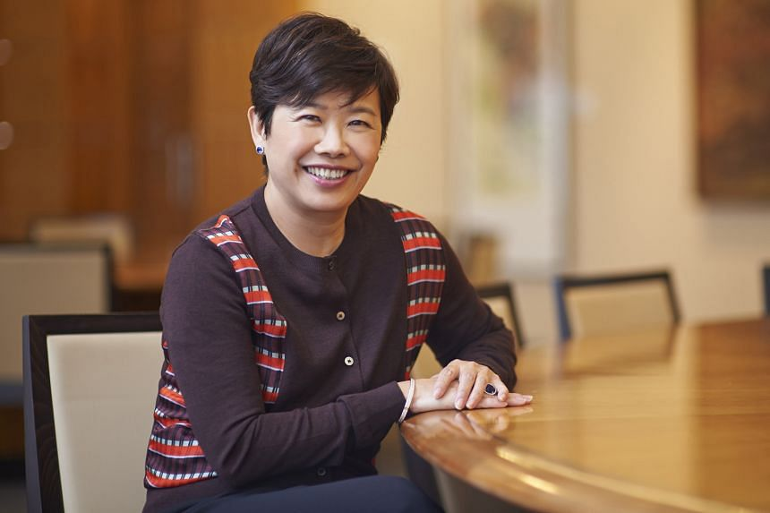 Ms Low sees technology disruptions and shifts in customer behaviour as Singtel's biggest challenges.