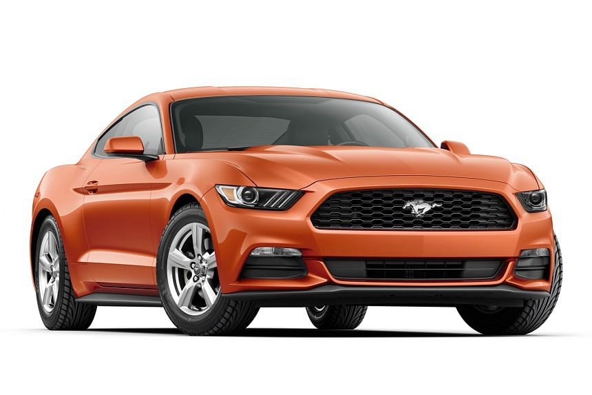The new Mustang (above) has finally galloped to Ford agent Regent Motors.