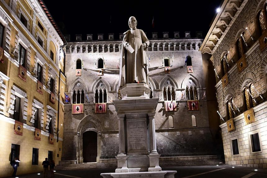 Italy's Banca Monte dei Paschi di Siena is among the banks with the worst results in EBA's test.