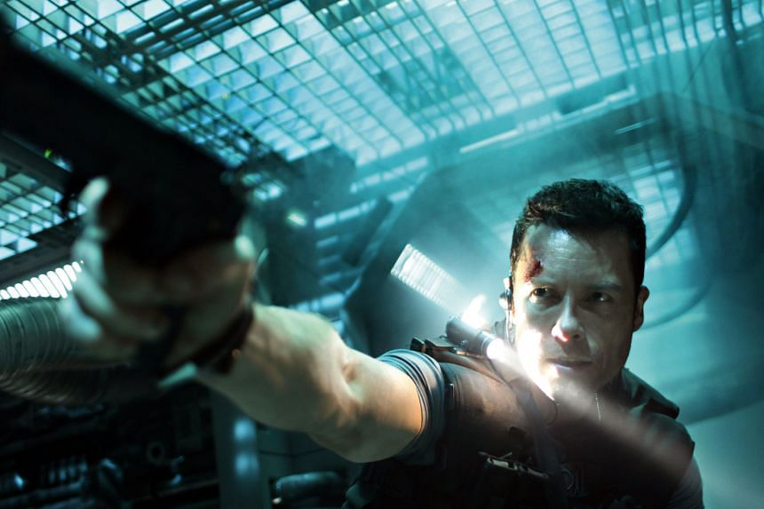 Lockout (2012), which stars Guy Pearce (above), is by Luc Besson.