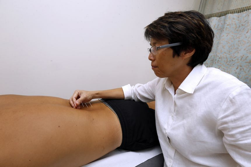 Dr Teoh is also a qualified acupuncturist who uses the TCM therapy to treat patients who are in pain or have muscle problems.