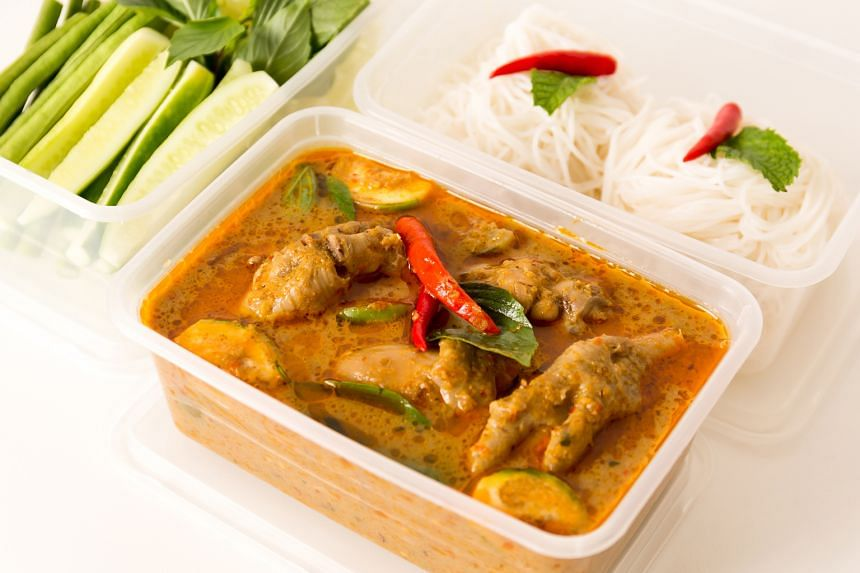 Takeaway plastic food containers are disposable items designed for single use and are not intended for the repeated storage of food, says the AVA.
