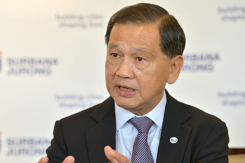 Surbana Jurong chairman Liew Mun Leong said his company specialises in urbanisation. SMEC chief Andy Goodwin said the firms could work on a deep tunnel sewerage system in Singapore.