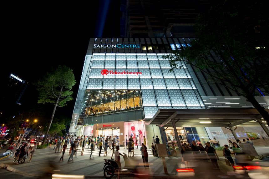 Keppel Land's new retail mall in Ho Chi Minh City's Saigon Centre is part of plans to increase its presence in Vietnam. The mall has 55,000 sq m of retail space, and is anchored by Japanese retail giant Takashimaya, its first outlet in the city.