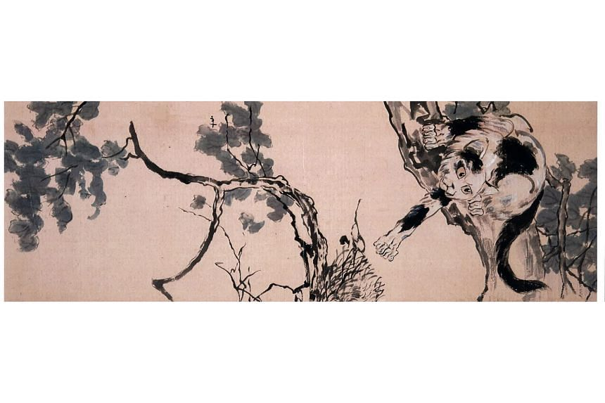 Yang lied about a painting bought from Japan to avoid it being detected in the civil suit. The Chinese national also faked his credentials on two namecards. One of these was used when he tried to sell a fake painting of a cat by Chinese artist Xu Bei