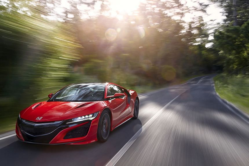 The Honda NSX is among the quickest production cars from zero to 200kmh today.