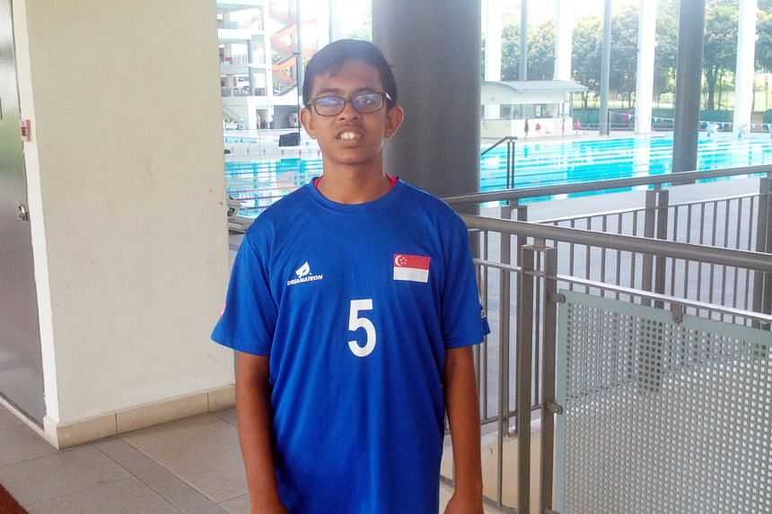 Despite being shorter than his team-mates, Pranav C. Balu intends to train harder to make up for his physical disadvantage.