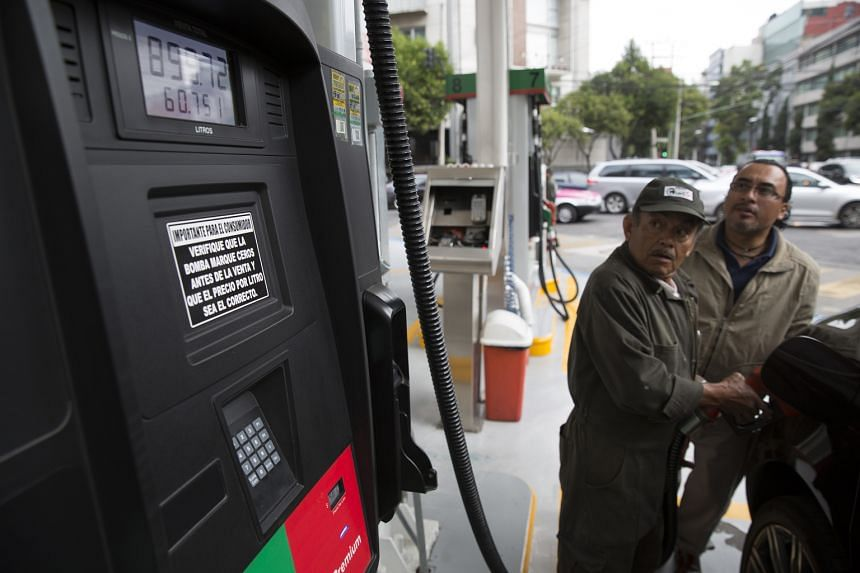 Oil dropped below US$40 a barrel last week for the first time since April amid concerns over a supply glut, before trading around US$42 yesterday. Oil-related firms face S$1.4 billion of Singdollar bonds maturing through 2018, with S$325 million due