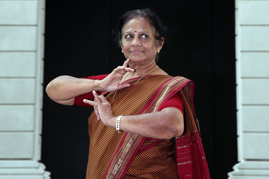 "Mrs Bhaskar, who was trained as a classical Indian dancer, blends other dance styles and elements like theatre and music into her choreography to help people ""appreciate traditional arts""."