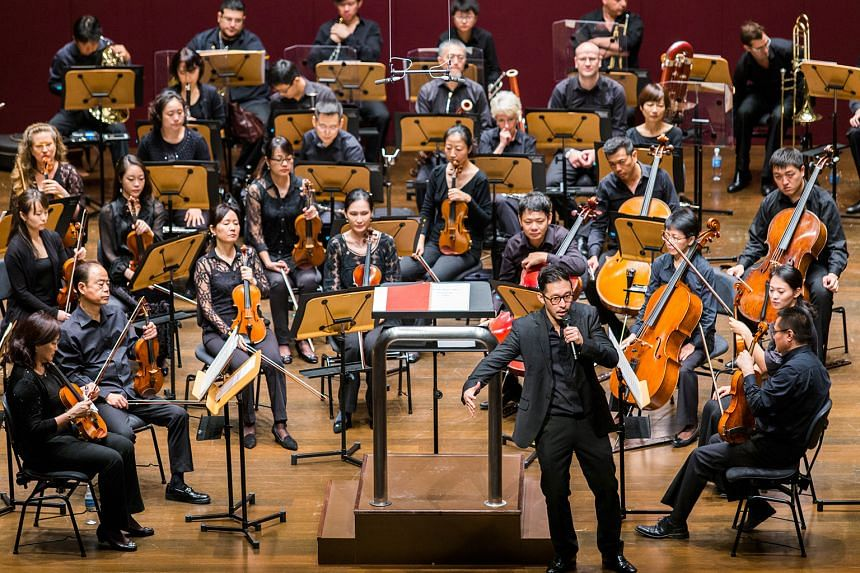 The lunchtime concert by SSO (above) will feature pieces inspired by the works of famous English playwright William Shakespeare. In all, 200 pairs of tickets will be given away in a lucky draw.