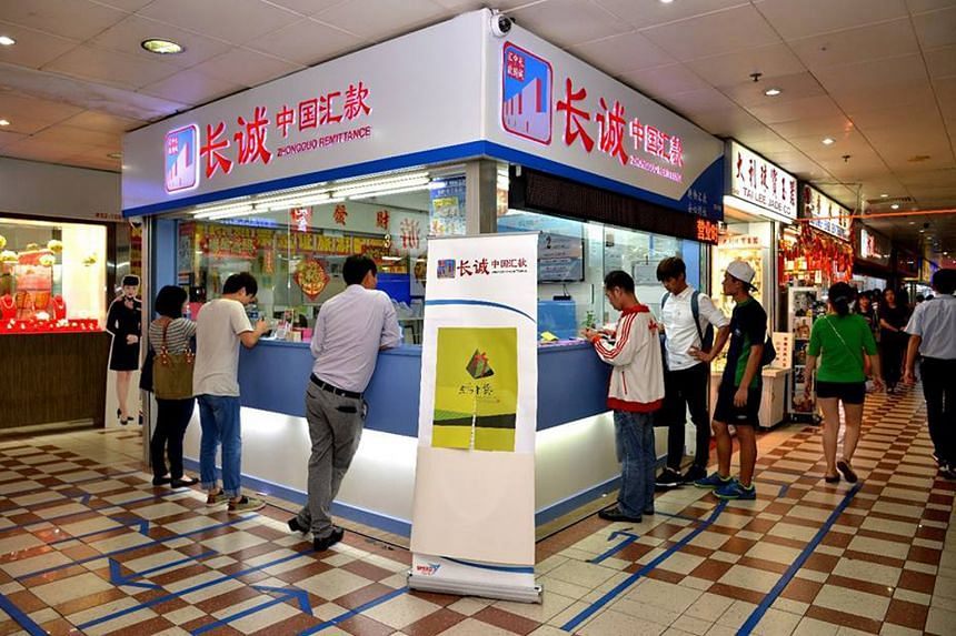 It is the third time that staff at Zhongguo Remittance have helped to foil remittance scams.