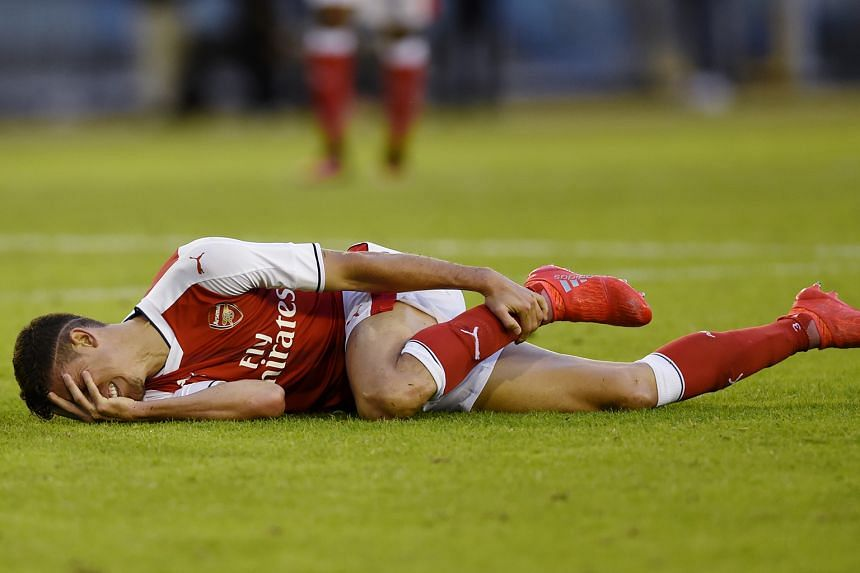 The absence of Arsenal defender Gabriel, injured in a pre-season friendly against Manchester City, may force manager Arsene Wenger into picking a new partnership against Liverpool.
