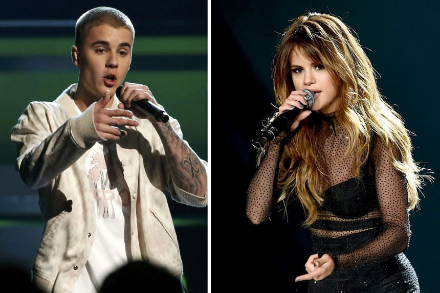 Justin Bieber's former girlfriend, singer Selena Gomez (both above), has joined in with comments about the recent postings of Bieber and his alleged girlfriend, model Sofia Richie.