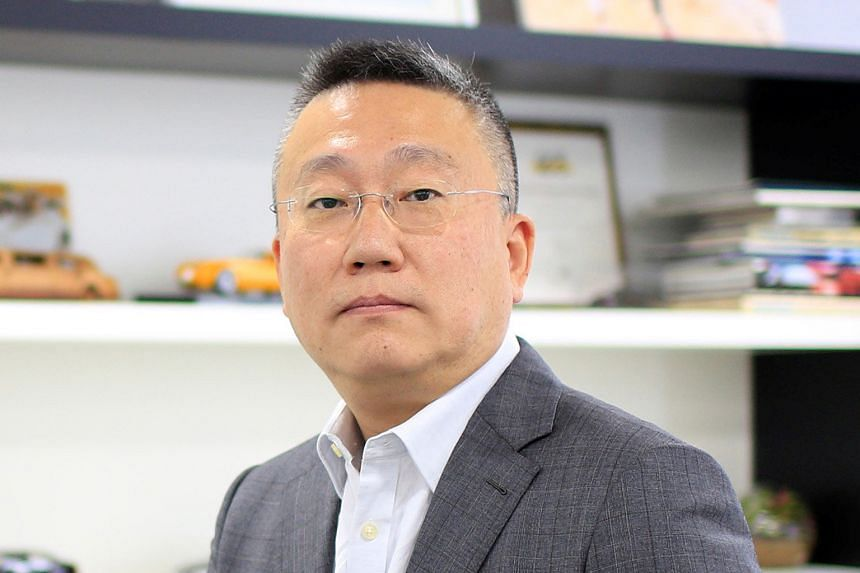 Founder of WM Motor Freeman Shen (above) sees potential in the Chinese government's commitment to boost yearly sales of new-energy vehicles by 10-fold in the next decade.