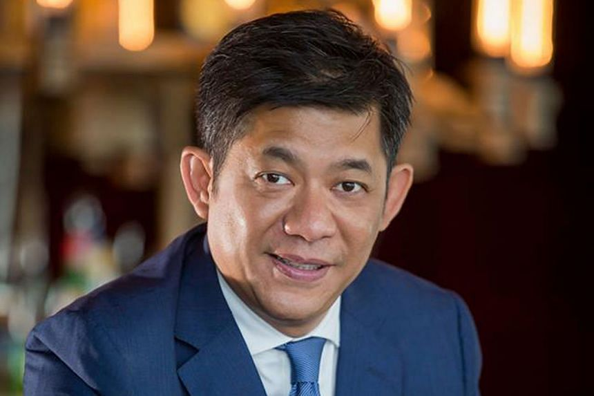 Mr Au (below) is also locked in a legal battle in Hong Kong with his former business partners over proceeds from the sale of Ku De Ta (above) in 2014.