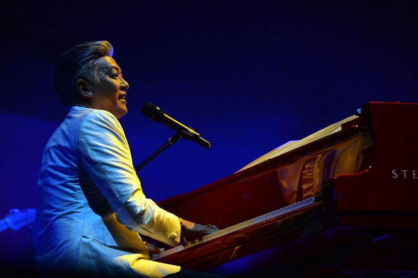 Dick Lee's vocals rang out clearest during the stripped- down segments where it was just him and the Steinway grand piano.