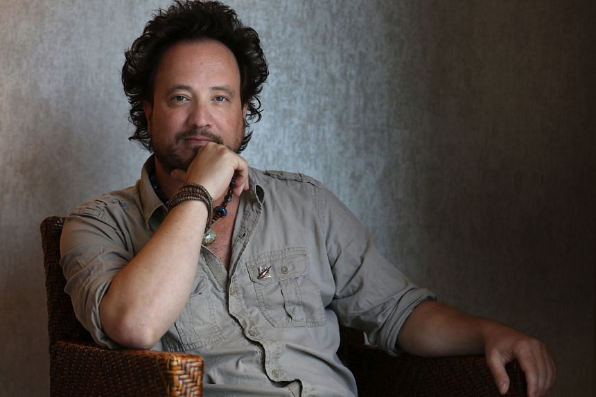 Giorgio A. Tsoukalos admits that talking about aliens can sound crazy, but he will continue to ask questions.