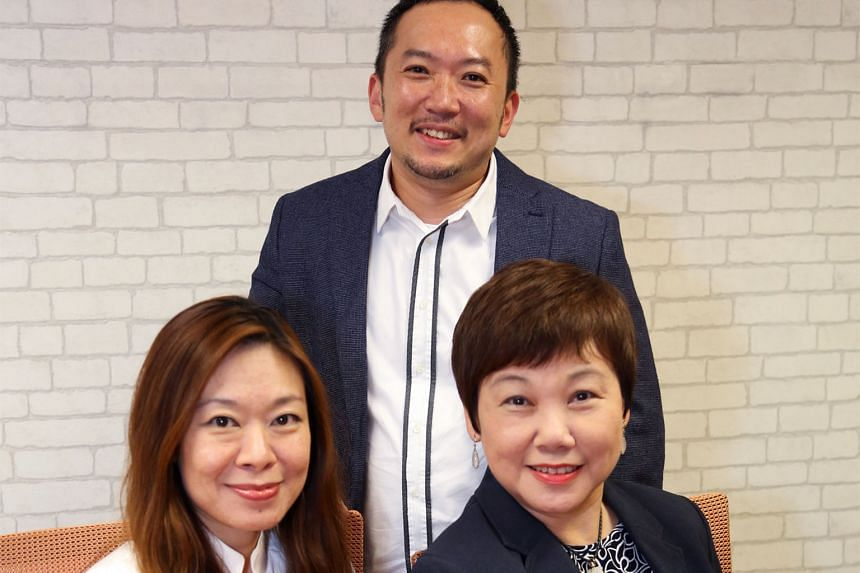 Ms Elsie Chua (right) will be SPH's chief marketing officer, with two deputies, Mr Ignatius Low and Ms Tan Su-Lin.