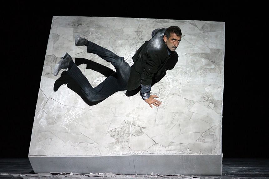 Dimitris Papaioannou's Still Life (left). The life of 75-year-old Singapore-based flamenco dancer Antonio Vargas is enacted on stage by Vargas himself, eight actors and two musicians in The Last Bull.