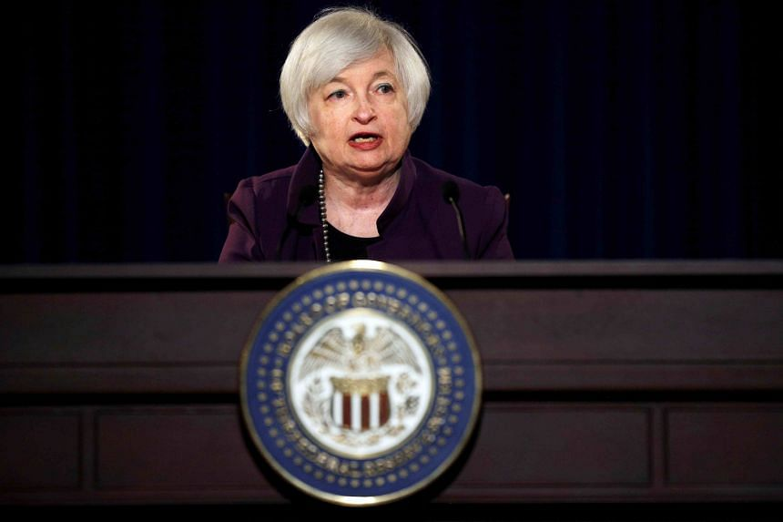 Dr Yellen said in a speech last Friday that recent improvements in the US labour market and a wider economy have made a rise in interest rates more likely. But she stopped short of giving an indication of timing, only describing the path of rises as