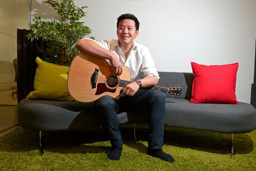 Mr Kuok says his start-up, BandLab, is fully funded until 2019 and by then, it will probably have about 100 employees.