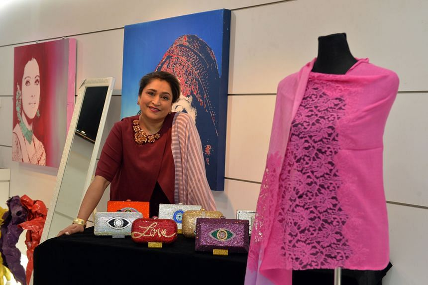As a young wife living in a foreign country, Mrs Mehta decided to study in Israel, where her use of bright colours went against the grain of art movements there. She now infuses her vibrant style in many of the designs of the cashmere shawls that her
