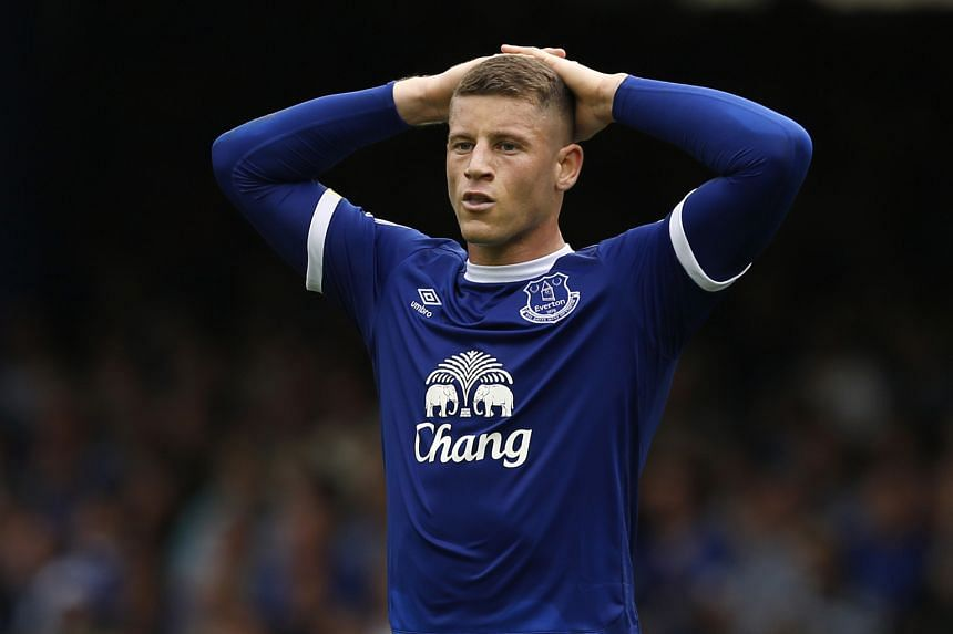 (Above) Ross Barkley during the 1-0 win against Stoke City last Saturday. Despite scoring twice in four games, he did not earn a spot in the England team that will take on Slovakia in a World Cup qualifier on Sunday. (Left) Sam Allardyce said selecti