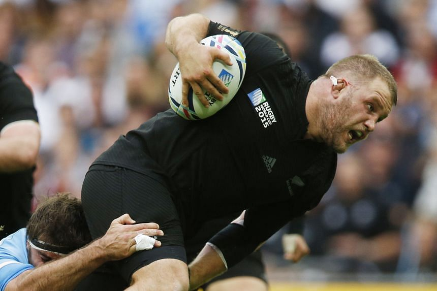 New Zealand's Owen Franks (left) will be free to play for the remainder of the All Blacks' Rugby Championship campaign, after escaping punishment for making contact with the eyes of Australia lock Kane Douglas during the 29-9 victory against the Wall