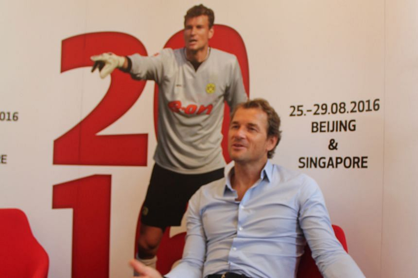 In town as part of the Bundesliga Legends Tour, Jens Lehmann says that the exodus of players from the Bundesliga to the Premier League actually gives German clubs more money to buy new talent.