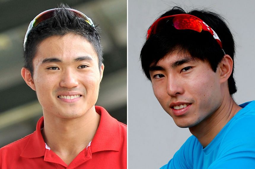 Mok Ying Ren (left) clocked a time of 1hr 7min 8sec in Arizona in January, while Soh Rui Yong ran 1:07:21 in San Jose last year.