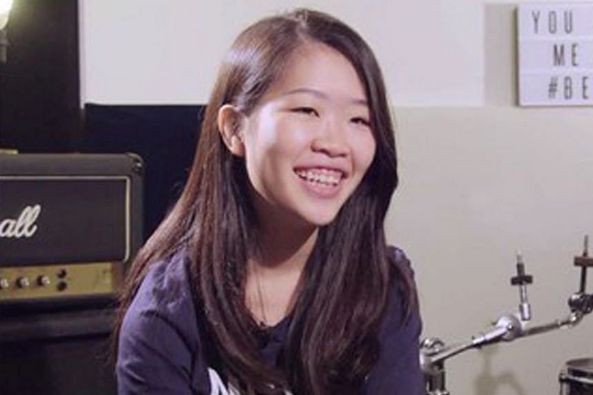 Linying has performed at major events in Singapore, including last year's Baybeats and this year's Night Festival.