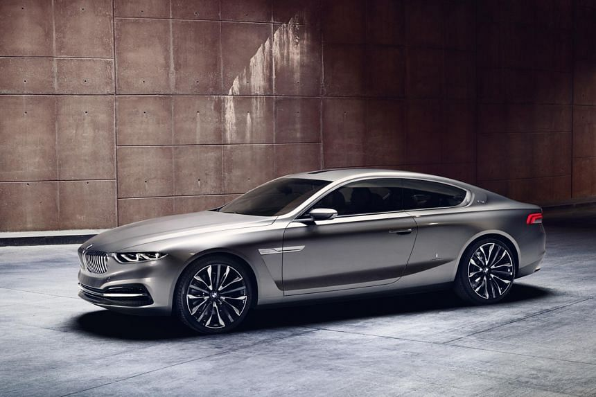 Could the anticipated 7-series coupe be based on the Gran Lusso concept (left)?