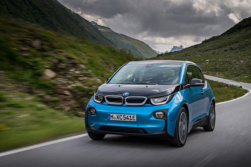 The lithium-ion battery in the BMW i3 is said to have 50 per cent higher energy density than its predecessor's.
