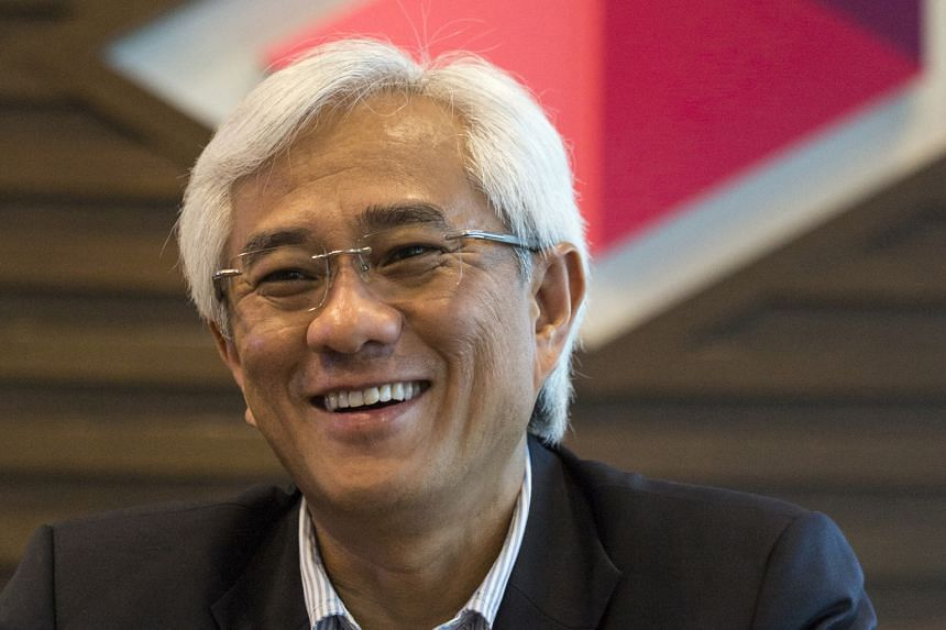 Axiata is M1's biggest shareholder, with a 28.5 per cent stake. Mr Jamaludin (above) said it would be good for Axiata to raise its stake and that if the price is right, the company will seriously consider it.