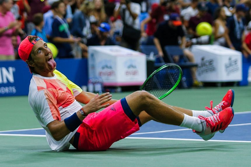 After the most significant victory of his career, 22-year-old Lucas Pouille of France can scarcely believe his 6-1, 2-6, 6-4, 3-6, 7-6 (8-6) upset win against two-time US Open champion Rafael Nadal on Sunday.