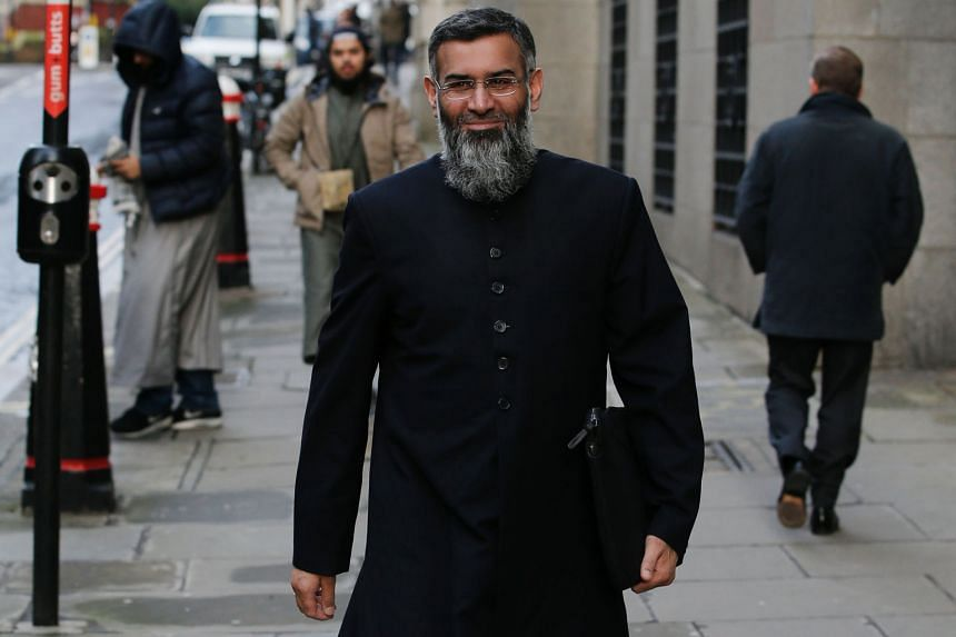British Muslim cleric Anjem Choudary, who is of Pakistani descent, heading to court for the start of his trial in January. A jury convicted him in July of garnering support for ISIS and he was sentenced to prison for five years and six months yesterd